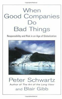 When Good Companies Do Bad Things : Responsibility and Risk in an Age of Global