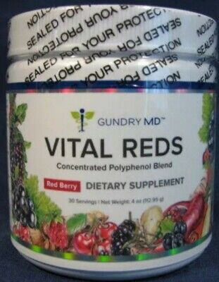 ☆Dr Gundry MD☆Vital Reds☆Dietary Supplement☆Berry Flavour☆Sealed☆AU Stock☆
