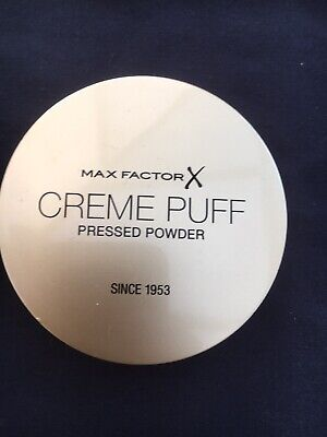 New Max Factor Creme Puff Pressed Powder In 41 Medium Beige