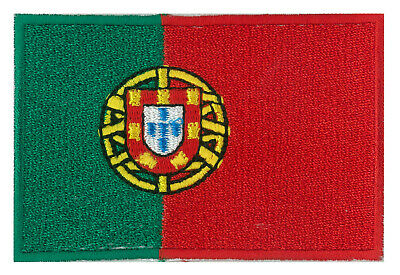 Patche écusson patch drapeau Portugais Portugal brodé thermocollant