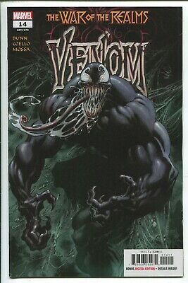 Venom #14 - Kyle Hotz Main Cover - Iban Coello Art - Marvel Comics/2019