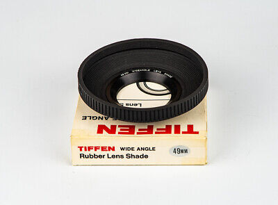 TIFFEN 49mm Rubber Lens Shade, Near New Condition