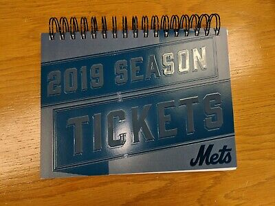 Mets Unused Ticket Stubs- 5/22/19 vs. Nationals-- All Games Available!