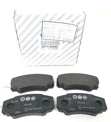 Rear Brake Pads Pair Full Axle Set For Citroën Relay Fiat Ducato Peugeot Boxer