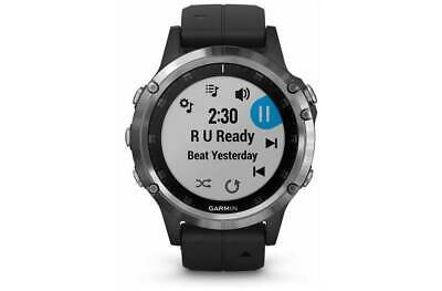Garmin Fenix 5 Plus Multisport Gps Watch Wrist Heart Rate Cycling Running