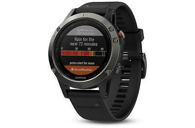 Garmin Fenix 5 Multisport Gps Watch Wrist Heart Rate Cycling Running Sport