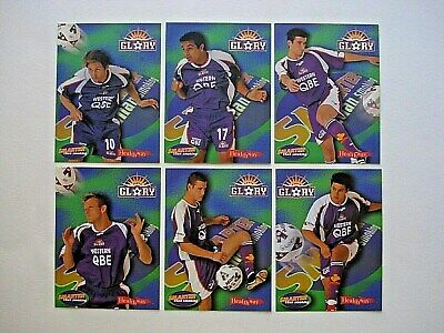 Healthway Nsl Soccer *Perth Glory* 12 Card Team Set