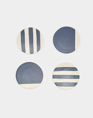 Joules Galley Grade Four Pack Coasters in FRENCH NAVY in One Size