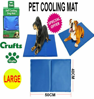 X LARGE Gel Cooling Mat Dog Cat Pet Self cooling pillow Summer Hot Weather Bed