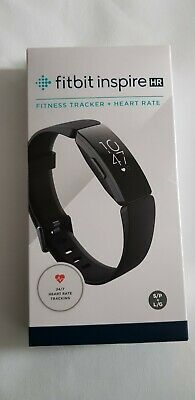 FITBIT Inspire HR Fitness Tracker - Black, Universal  BRAND New