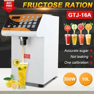 Bubble Tea Equipment 280W Fructose Quantitative Machine Fructose Dispenser 110V