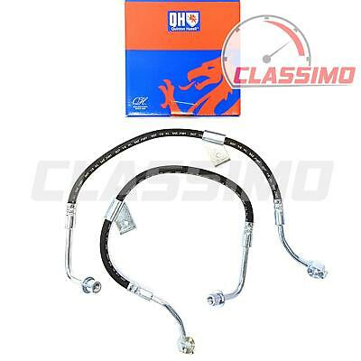 Front Flexi Brake Hose Pair for FORD TRANSIT Mk 3 4 & 5 - all models - 1986-2000