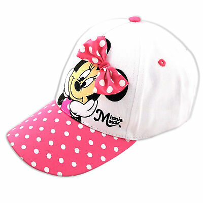 reputable site 6400a 4f990 Little Girls Disney Minnie Mouse Character Baseball Cap, For Little Girls,  Age 4