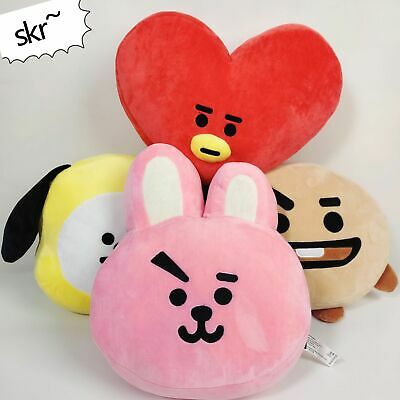 Kpop BTS BT21 Plush Doll MANG TATA CHIMMY COOKY KOYA Pillow Cushion Stuffed Toy
