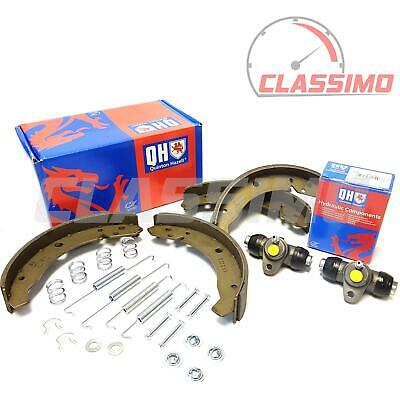 Rear Brake Shoes, Fitting Kit + Cylinders for VOLKSWAGEN BEETLE - 1966 to 1979