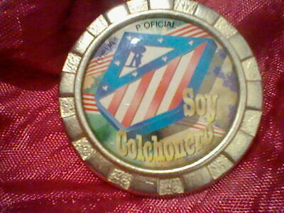 Atletico At Madrid Llavero Keyring Escudo Laurel Vintage Colchonero  Spain