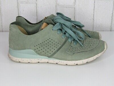c2740567843 UGG TYE ALOE Vera Perforated Soft Leather Womens Sneakers Size Us 10 ...
