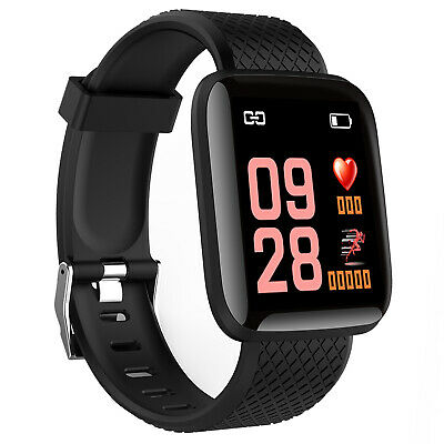 Smartwatch cardiofrequenzimetro fitness tracker sport CR16 orologio Android iOS
