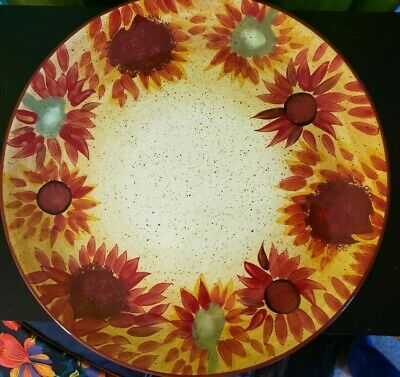 Pfaltzgraff EVENING SUN (Hand Painted) Dinner Plates/Charger (Set of 2)
