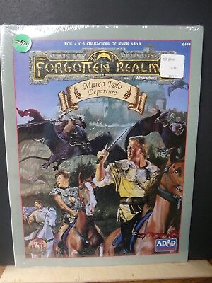 Z401)TSR AD&D Forgotten Realms Marco Volo Departure SEALED BOOK