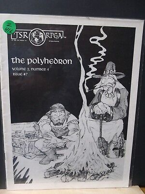 Z416)TSR D&D RPGA POLYHEDRON Newszine (Volume 2 Number 4) Issue #7 1982 (Very g