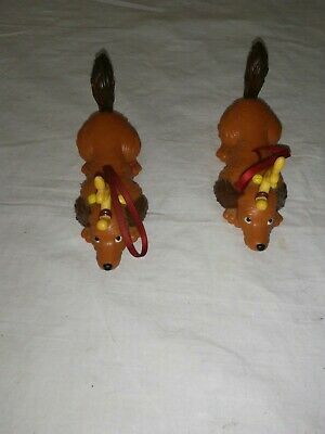 2 MAX the Dog Christmas Ornament Dr Seuss How The Grinch Stole Christmas WENDY'S
