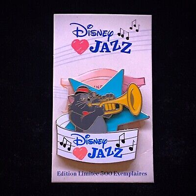 DLP LE 500 Scat Cat Trumpet Aristocats Marie Berlioz DLRP Disney Loves Jazz Pin