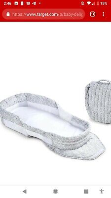 Baby Delight Snuggle Nest Grey And White