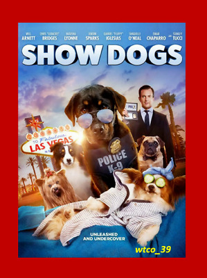 Show Dogs [DVD][2018]NEW*, Comedy, Family, Crime* FREE SHIPPING!!!