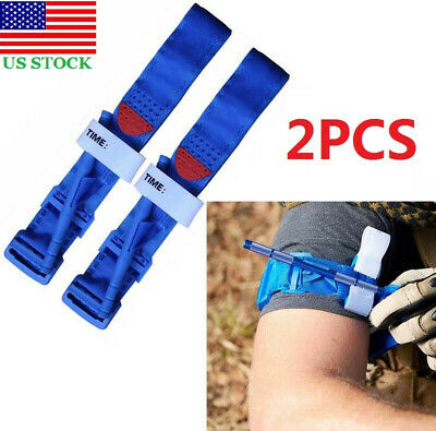 2PCS One Hand CAT Application Emergency First Aid Medical Tourniquet Combat Game