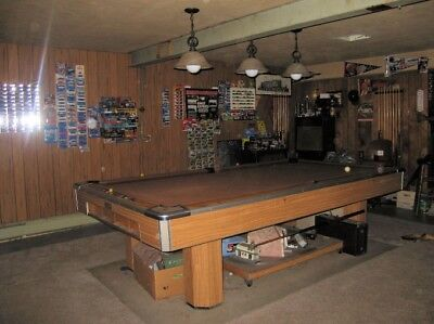 Charmant BRUNSWICK CENTURY Pool Table 9Ft Pickup Ne Ohio Delivery And Setup Avail Fee