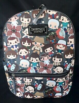 STRANGER THINGS BACKPACK Bag Chibi NETFLIX Loungefly 11