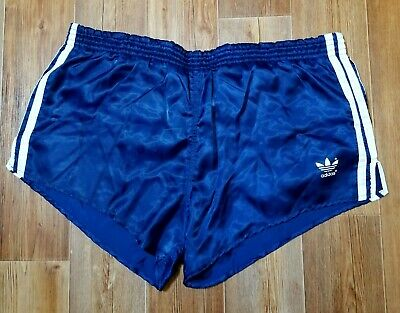 93a8a5ed5 Retro Rare Blue Shorts Vintage Adidas Original Made In West Germany Vtg  Size M/L