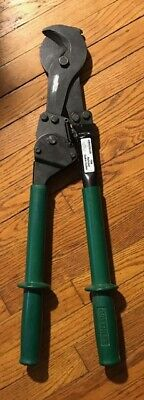 Greenlee 756 Ratchet Cable Cutter Works Great