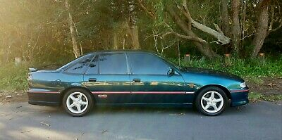 VS SS COMMODORE, 1996, MANUAL 5 SPEED, botanica mica, V8 SS, HOLDEN V8