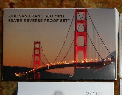 2018-S San Francisco Silver REVERSE Proof Set ~ United States Mint
