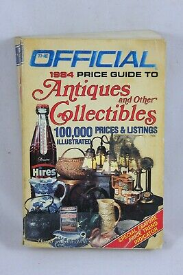 The Official Price Guide To Antiques & Collectibles 1984