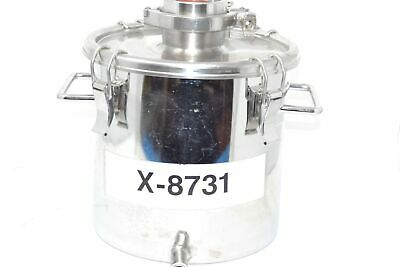 X-8731 Stainless Container 316L Sight Glass 10 Liter
