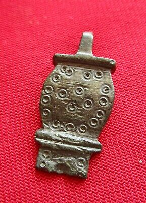 ANCIENT CELTIC BRONZE PEMDANT . circa 200 BC,