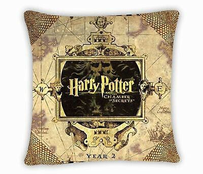 Harry Potter Square Pillowcase Throw Cushion Pillow Cover NO. 9