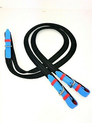 Pony Club Reins - LOTS of COLOURS available - ALL sizes - Polyester