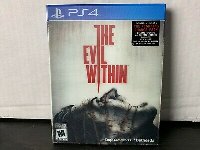 The Evil Within Sony Playstation 4 PS4 Holo Slip Cover