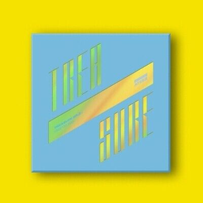 Ateez-[Treasure Ep.3:One To All]3rd Mini Wave CD+Poster/On+Book+Card+etc+Gift