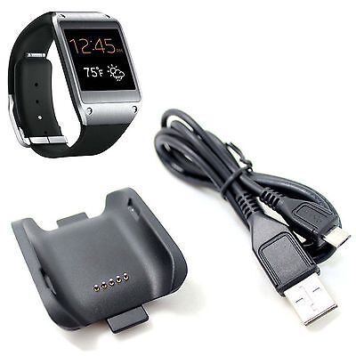 Replacement Charger Base Dock Charging Cable For Samsung Galaxy Gear SM-V700 HAU