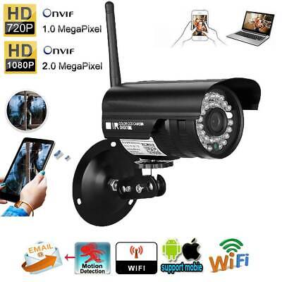 HD 1080P WIFI IP Camera Wireless Outdoor CCTV HD Home Security IR Network Cam