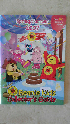 Beanie Kids Collectors Guide Spring/Summer 2007