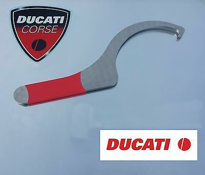 Ducati Streetfighter 848 1098 Chain Adjuster Tool in 5mm thick Stainless Steel