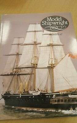 Model Shipwright Number 67 (no modellers draught)