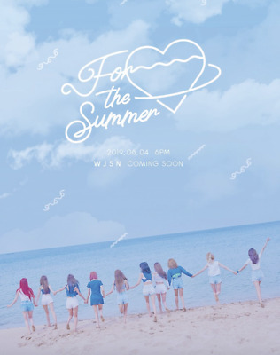 WJSN Cosmic Girls For The Summer Special Album + Pre-Order Benefits