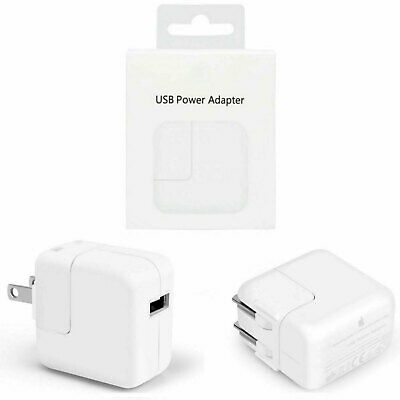 8Genuine OEM Apple A1357 12W USB Wall Charger Power Adapter For iPhone iPad iPod